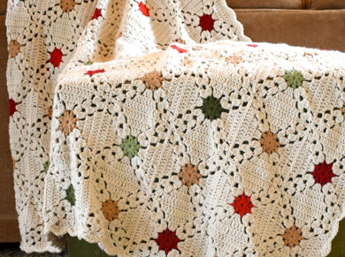 Afghan Christmas crochet