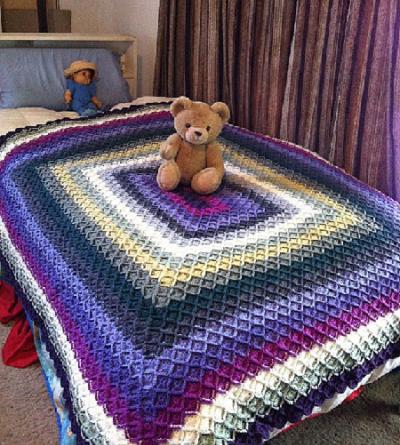 Bavarian Crochet Blanket – Extraordinary [Pattern and Tutorial Available]