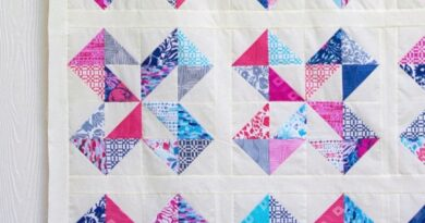 Quilt Star Layer Cake – FREE Pattern