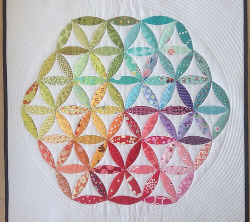 The Flower Of Life Quilt
